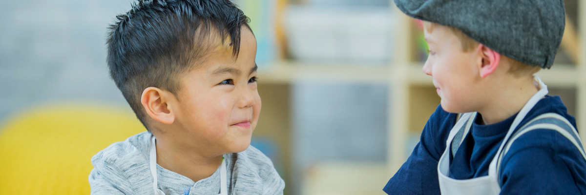Multiage Sunday school classrooms present blessings and challenges. Read five tips to help using a buddy system to engage all ages! | Sparkhouse Blog