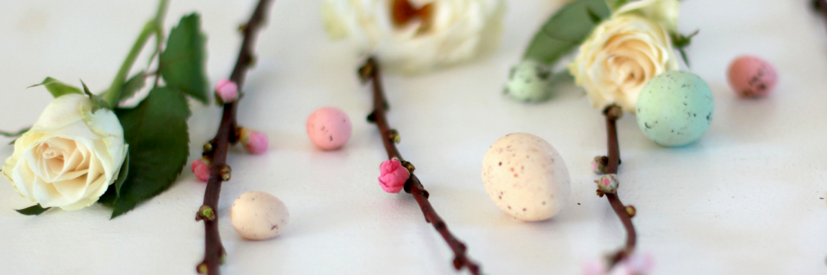 Easter decorations, flowers, and eggs | Sparkhouse Blog