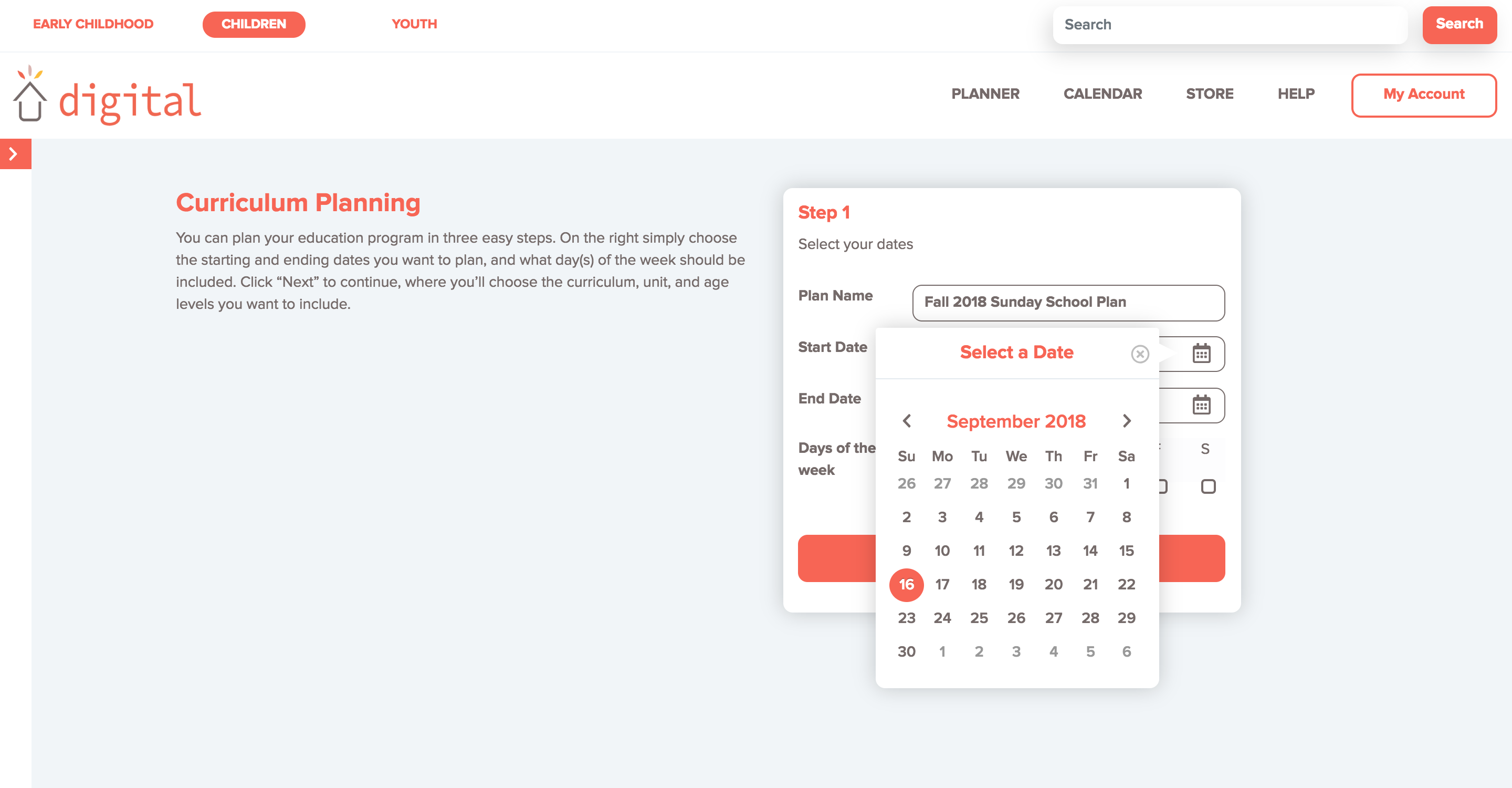 A sneak peek at the planning tool in Sparkhouse Digital | Sparkhouse Blog